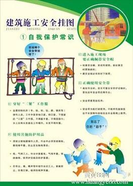 供应定制建筑安全海报 工地安全挂图 工地安全海报 安全宣传海报