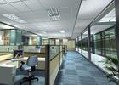 广州办公室改造隔断办公室装修玻璃隔断安装的问题图片