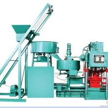 液壓全自動水泥彩瓦機械設備脊瓦制造機古建仿古水泥瓦機械設備圖片