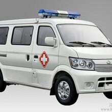 带有救护标识做为中转救护的专用长安小型救护车图片