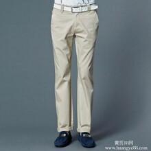 GXG风格男装休闲裤