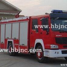 如何选购豪沃8吨水罐消防车和泡沫干粉消防车