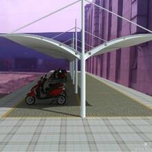 太原膜结构雨棚、电动膜结构车棚充电站价格