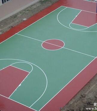 天津塑胶篮球场地面铺装施工材料_天津塑胶篮球场施工价格|图片】-