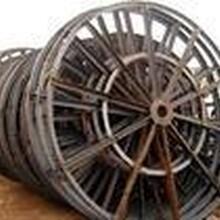 回收电缆盘铁木的怎么拆卸和运输