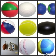 深圳专业生产优质PU玩具球,PU发泡球,PU压力球仿真玩具厂家批发图片