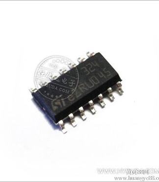 导体ST放大器芯片LM324DT -IC