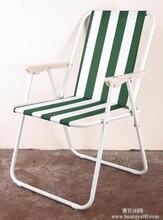 牛津布面料弹簧椅沙滩椅折叠椅NK-1215