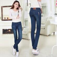 欧美韩版女装牛仔裤爆款厂家直销代工加盟