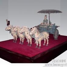 陕西特色铜车马西安青铜器礼品就选靠谱的爱丫丫图片