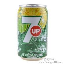 批发七喜柠檬味汽水