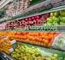 天津货架厂水果蔬菜专柜收款台手推车工作桌购物篮超市展柜