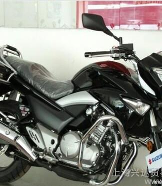 骊驰250GW250铃木双缸水冷250摩托车前后碟刹跑车 -GW250高清图片