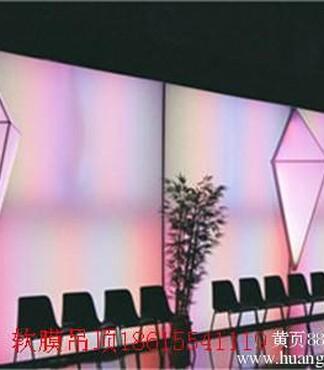 【安徽拉膜天花吊顶软膜灯箱制作展厅吊顶展会拉蓬_拉膜天花价格|图