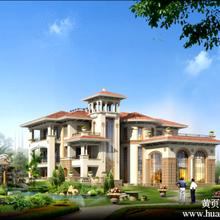 别墅设计图纸cad施工图效果图欧式豪宅自建房建筑设计16图片