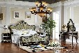 厂家直销圣琪家具供应美式实木家具卧室组合床床头柜衣柜妆台斗柜