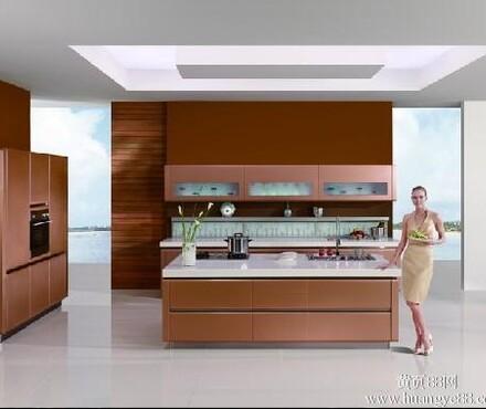 【整体橱柜--烤漆门实木颗粒板柜体石英石台面_橱柜价格|图片】-黄页