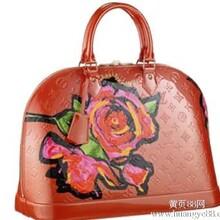 LV女士漆皮包一比一高仿广州一手货源批零
