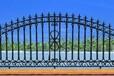 供应定日高品质玛钢球墨铸铁护栏最新合金铸造护栏