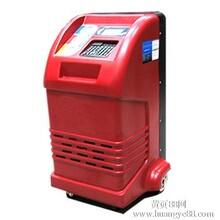 冷媒回收加注机汽车空调加注机全自动回收,再生,抽真空,加注,检漏一体机,液晶中文显示,按键操作,单回路双电子称