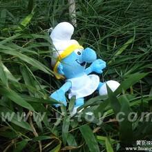 蓝精灵_蓝精灵公仔,蓝精灵毛绒玩具,乐乐,玩具工厂