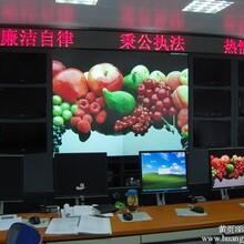 四川资阳道路监控中心室内P4高清全彩屏完美点亮