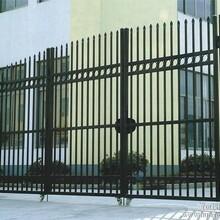 供应樊城区景观园林透景铸铁围墙铸铁护栏豪华大门图片