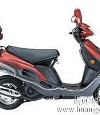 鑫佳崎车业豪爵铃木海王星HS125T踏板车跨骑车摩托车越野车跑车 -图片