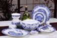 56头陶瓷器餐具套装景德镇骨瓷结婚送礼小桥流水