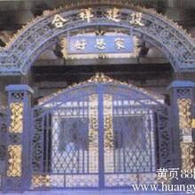 供应罗田豪华铁艺大门玛钢铸造围栏铸铁围墙铸铁护栏图片