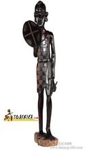 非洲马赛人猎人站立木雕LWC-055