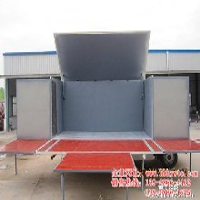 供应2013畅销舞台车22平米商品展销车