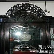 求购:上海老红木大床回收卢湾区老家具回收图片