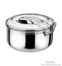 不锈钢圆型饭盒
