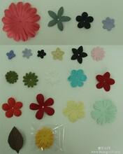 皱纹纸花片四瓣花片五瓣花片六瓣花片七瓣花片
