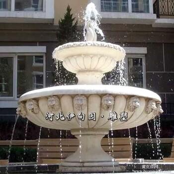 【喷泉价格_曲阳喷泉小品雕塑批发曲阳石雕喷水天鹅曲阳欧式喷泉雕