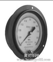 北京布莱迪压力表优质销售:YTNF-100HZT腐蚀性全钢耐震轴向带边安装压力表/盘装压力表