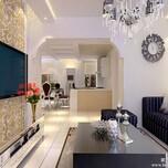 南洋国际庄园别墅装修设计方案-成都尚层别墅装饰图片