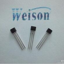 WSH202高靈敏度線性霍爾感應IC图片