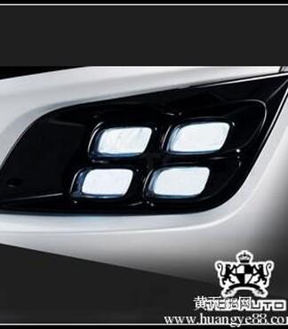新款起亚K5改装专用LED日行灯雾灯MOBIS原厂韩国进口汽车用品 -起