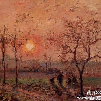 毕沙罗的风景画香港专业拍卖