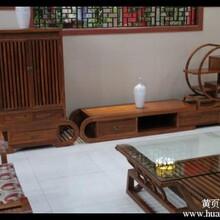 仿古家具-明清居红木家具-歌意红木电视柜-组合电视柜