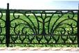 供应长丰氟碳球墨玛钢护栏铸铁围墙铸铁护栏铁艺护栏