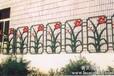 供应横峰HY豪华透景铸铁护栏1761铸铁围墙护栏底座