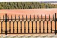 閘北精鑄球墨鑄鐵道路欄桿公路鑄鐵護欄規格報價鑄鐵柵欄生產廠家