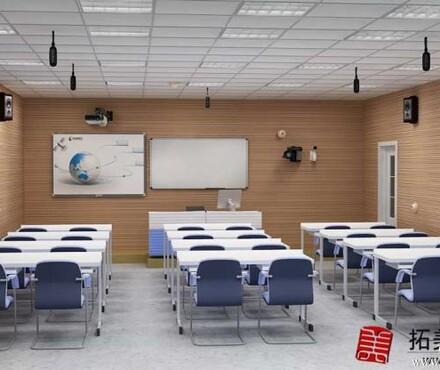 做效果图珠海制作学校多媒体室电教室时装店门面面包店效果图_专
