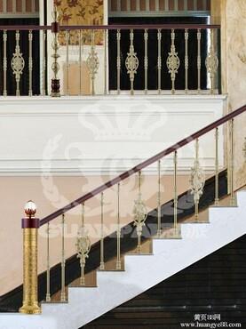 【冠派富甲东方楼梯护栏_精雕铜艺价格|图片】-黄页88网