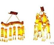 中式灯饰创意中国风手工竹艺灯饰茶楼灯餐吊灯客厅吊灯图片