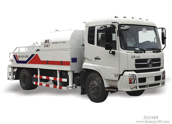 关于混凝土输送泵车怎么安装?