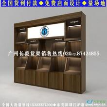 广州长毅展示柜厂汽车用品货架汽车用品展示柜图片